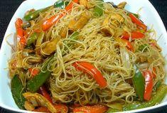 Fideos de Arroz con Pollo y Verduras | #recetasconpollo #recetasconverduras #fideosdearroz #recetasperu #recetasfaciles #recetasdecocina #cocinacasera