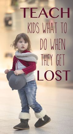 Teaching kids what to do when they are lost