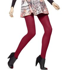 Pink Tights, Colored Tights, Tights Outfit, Long Sleeve Gym Tops, Black Opaque Tights, School Uniform Outfits, Winter Tights, Quirky Fashion