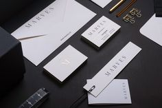 MARVES is a luxury female fashion clothing brand designed by Chi Tai Lin & Yu-Chien Lin using minimal graphic design elements for their beautiful branding.