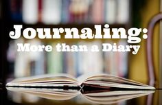 Journaling: More than a Diary How to use this versatile tool in your devotional life.  kellyneedham.com