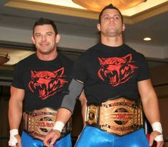TNA Tag Team - The Wolves