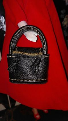 Mini bolso, bag hand made for Barbie, Silkstone, Royal Fashion