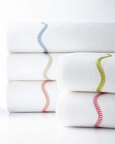 Simple white cotton sheets