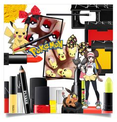"""Pokemon Beauty"" by captainsilly ❤ liked on Polyvore featuring beauty, NARS Cosmetics, Nails Inc., Illamasqua, M.A.C, Ardency Inn, MAC Cosmetics and Sally Hansen"