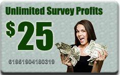 Unlimited Survey Profits: Make Unlimited Profits With Paid Surveys!