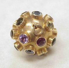 H Stern Sputnik Charm / Pendant 18k Gold
