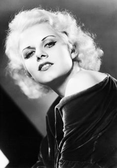 """deforest: """" Jean Harlow photographed by Clarence Sinclair Bull """" Old Hollywood Glamour, Golden Age Of Hollywood, Vintage Hollywood, Hollywood Stars, Classic Hollywood, Hollywood Usa, Vintage Glamour, Vintage Beauty, Jean Harlow"""