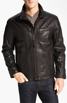 fc3f343be84 Marc New York by Andrew Marc  Nolan  Leather Jacket available at  Nordstrom  Andrew
