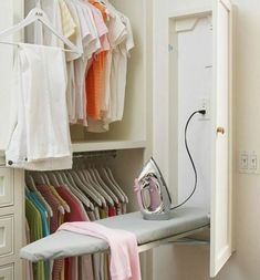 """Check out our internet site for even more info on """"laundry room storage diy small"""". It is a great area to read more. Laundry Room Organization, Laundry Room Design, Laundry Rooms, Laundry Baskets, Laundry Area, Laundry Storage, Small Laundry, Closet Designs, Closet Bedroom"""