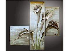 Dimension totale x Composition, Calla Lily, Scene, Beautiful, Lilies, Paintings, Google, Painted Flowers, Paint Flowers