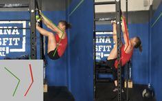 Your ability to do toes-to-bar is rooted in your kip, not your abdominal strength.