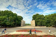 Virginia Tech. Such a beautiful campus.