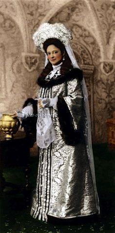 Madame Terepchoninaby at the Winter Palace Costume Ball of 1903.  ~VelkokneznaMaria.