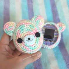 New color!🎉🎉 Sweet pastel🎉🎉 Ready to ship on my etsy shop.💨 Fit for tmgc idl p's and mix.  #cute #tamagotchimix #Tamagotchi  #Muninahandmade #pastels #sweets #rainbow #bear #crocheting #crochetaddict #amigurumi #crochet #Yarn #handicraft #handmade #etsy #etsysellers #etsyshop