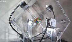 Robô resolve cubo mágico em menos de 1 segundo