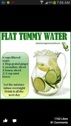Fat water flush