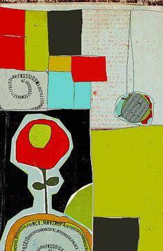 """Linda Vachon...les brumes - """"jardin"""""""