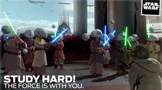 "Star Wars Episode II ""Study Hard"""