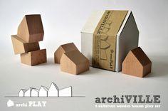 ArchiVILLE en su versión en bloques de madera