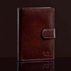 Leather Wallets, Card Holders, Wallet Leather Brown - Man Fashion