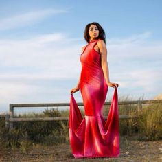beach fashion shoot red design liverpool out doors unique chio couture