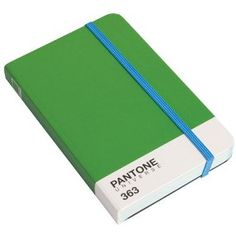 Pantone Reporter Notebook A6, Green 363 C by Pantone by W2 at Dotmaison