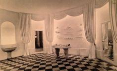 Lucien Lelong: perfume salons, c 1935- Designed by Jean-Michel Frank