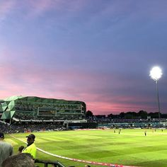 Red sky #Cricket #yorkshire #yorkshireccc #nofilter