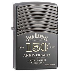 Zippo Jack Daniels 150th Anniversary Deep Carved Lighter