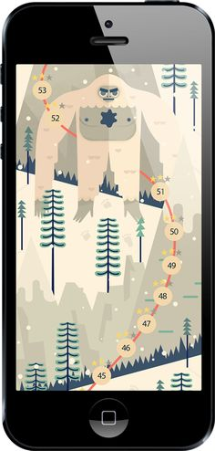 i love this game -> Screenshots from the app TwoDots by Betaworks One. Web And App Design, Mobile App Design, Mobile Ui, Mobile Game, Board Game Design, Game Ui Design, Two Dots Game, Dot App, Zen Design