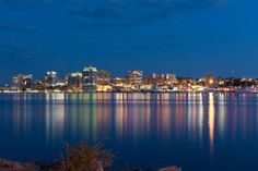 Halifax Waterfront at Night by Shawn Davidson on 500px