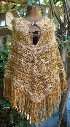 Hiawatha Poncho Crochet Pattern - Stitch Diva