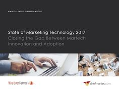 The State of Marketing Technology 2017 (hint: best-of-breed is big)