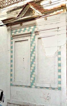 Azulejos antigos no Rio de Janeiro: Santo Cristo VI - rua Pedro Alves