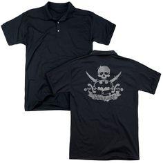 Dark Knight- Pirate Adult Polo Shirt