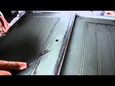 So einfach! Video-Tutorial: Mit Kreidefarbe und der Vaseline-Technik Möbel shabby, alt und antik streichen