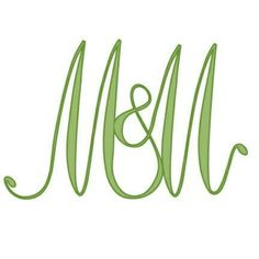 Couple monogram. Request yours! Great for wedding or for Valentine's day