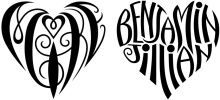 Word Illusion - Custom Ambigrams by Tiffany Harvey - tattoos and more