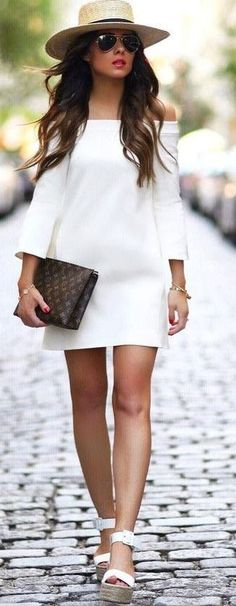 Perfect And Fantastic Trending Summer Outfits 2017 99 Summer Outfits 2017, Classy Summer Outfits, Preppy Outfits, Girl Outfits, Cute Outfits, Fashion Outfits, Summer Dresses, Look Fashion, Girl Fashion