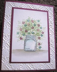 New Card-io 2019 Clear Stamps Nan/'s Garden