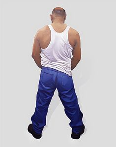 Artist of the Day  Subba Ghosh  Self Portrait 1999-2000 Acrylic on plywood 66 x 24.5 x 3.5 in