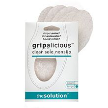 Solutions That Stick gripalicious: clear sole nonslip, small | $5.95 #Wedding #Beauty #Style Visit Beauty.com for all your beauty needs.