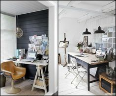 Style Files: High Contrast Office Space | The Design Confidential