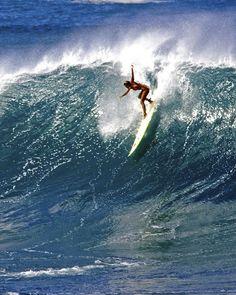 Big wave... surf girl...