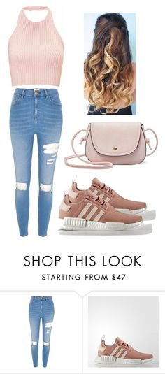 """Plain yet fashionable"" by crystfaye ❤ liked on Polyvore featuring River Island and adidas"