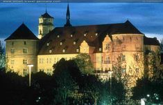 Stuttgart Old Castle (Altes Schloss) was built around 941 as a simple water-surrounded castle for protection of a stud farm (in German Gestüt from which the original name Stutengarten was derived).