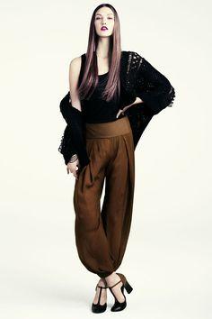 Karlie Kloss for H&M Fall 2011 Lookbook