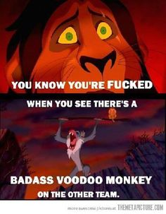Funny pictures about Badass Rafiki. Oh, and cool pics about Badass Rafiki. Also, Badass Rafiki photos. Rafiki Lion King, Lion King Funny, Scar Lion King, Funny Lion, Lion King Jr, Disney Lion King, Lion King Meme, Funny Pets, Lion King Story