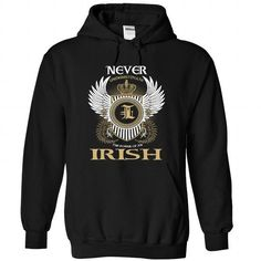 I Love 0 IRISH Never Shirts & Tees